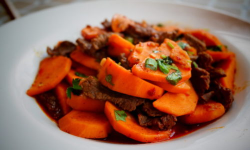 Beef with Sweet Potato